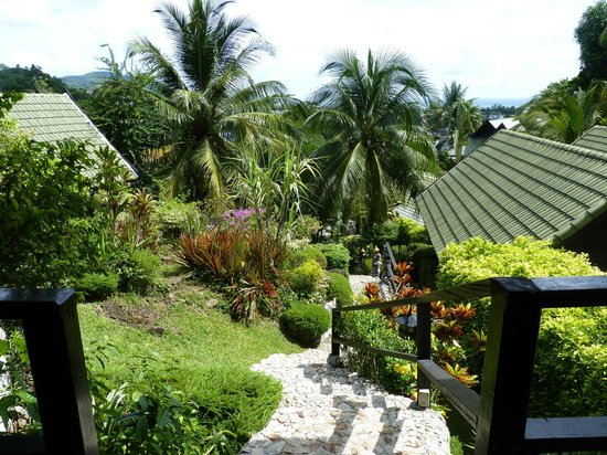 Boomerang Village Resort: vue du bungalow