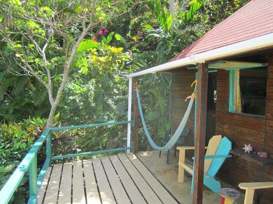Zion Country Beach Cabins : Unsere Hütte