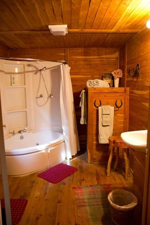 Southwind Bed and Breakfast: Mariah cabin - bathroom