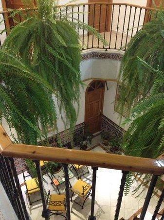 Pension Cordoba : de binnen patio