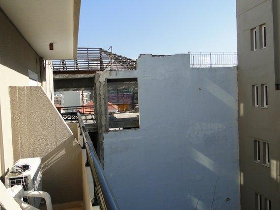 Arkadi Hotel: vue depuis la chambre