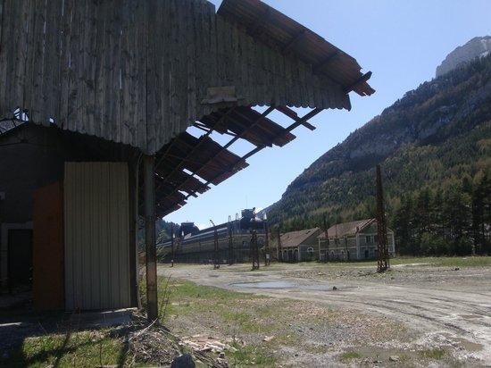 Estación Internacional de Canfranc: Zona Norte