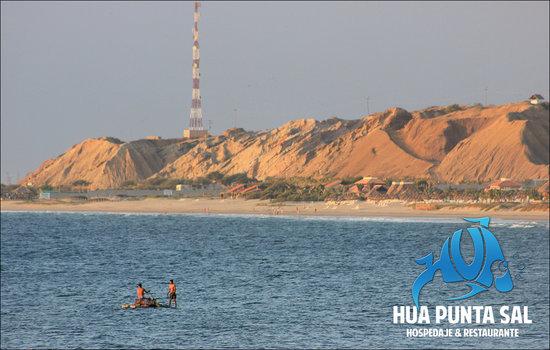 HUA Punta Sal Hotel Restaurante: Playa