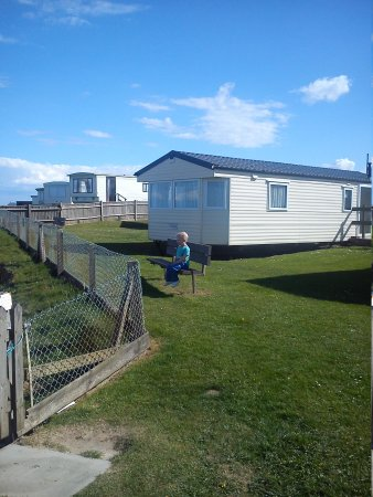 Castaways Holiday Park: caravan view