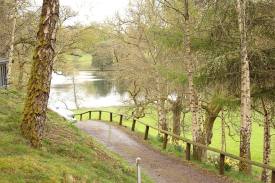Loch Monzievaird Self Catering Lodges: View from the lodge