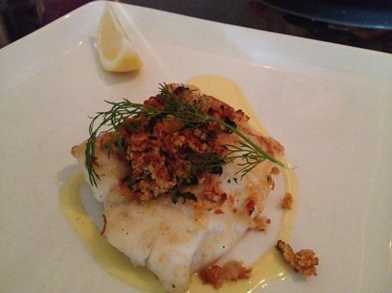 Lord Kenmare's Restaurant: Pan-fried hake