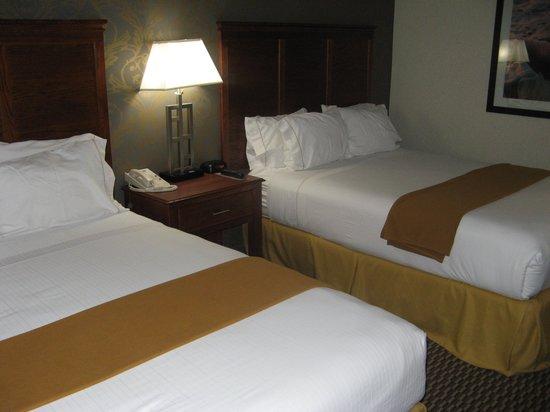 Beds in room 316