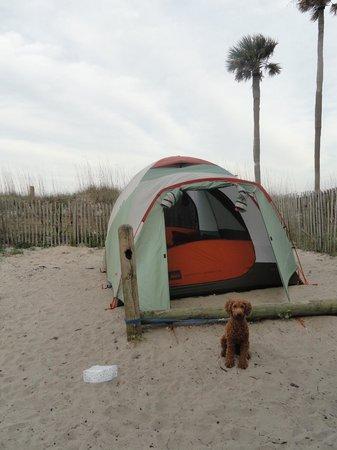 Hunting Island State Park Campground照片