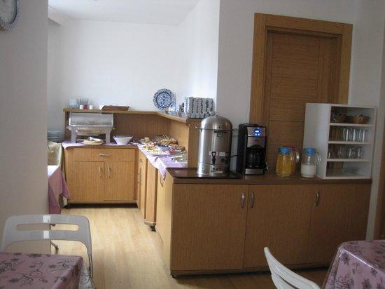 Gulhane Corner Hotel: Breakfast area