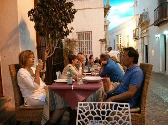 Mamma Ttina: Mesas al aire libre