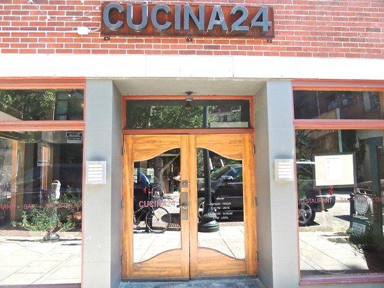 facade picture of cucina 24 asheville tripadvisor