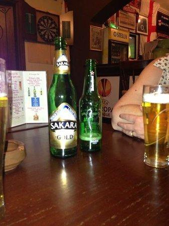 St George's Bar : Cool beer very nice!!!