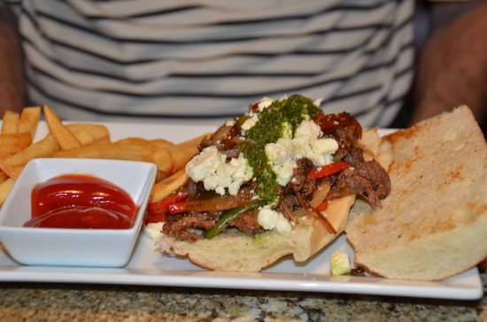 Tango Argentinian Steakhouse: Argentinian Philly Steak