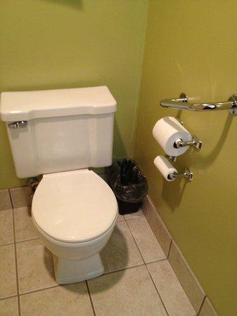 Super 8 Eau Claire WI: Bathroom