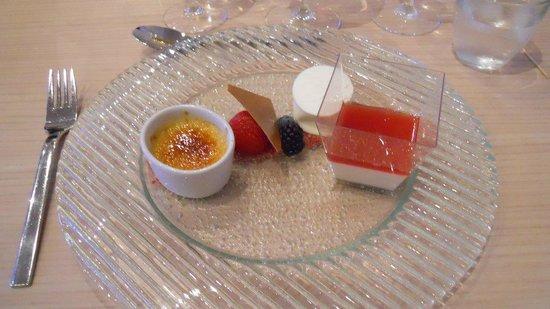 Comwell Holte: Dejlig dessert