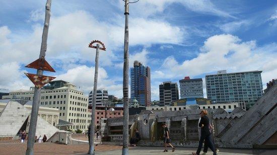 public art near civic square