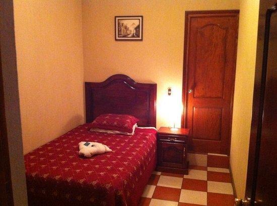 Castillo de los Altos: Habitacion sencilla