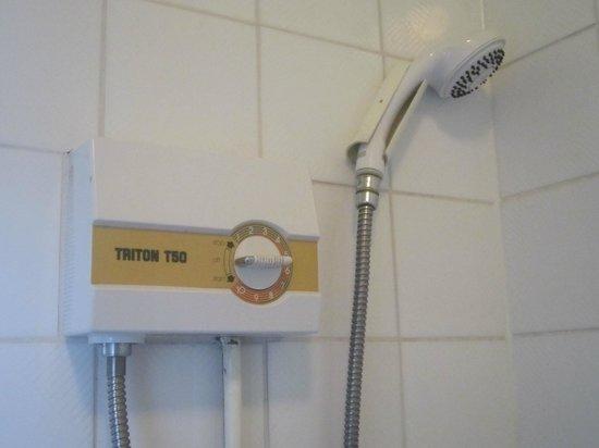 Elsinore Hotel: Shower.