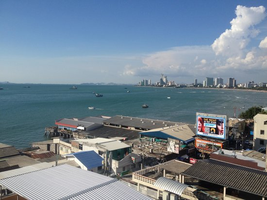 Grand Hotel Pattaya: view