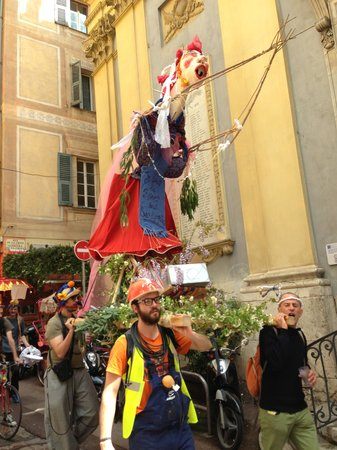 Hotel Trocadero: May Day Parade