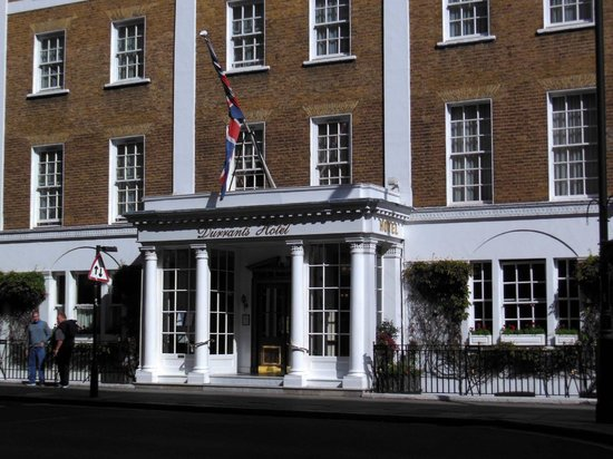 Durrants Hotel: This is the facade of the hotel