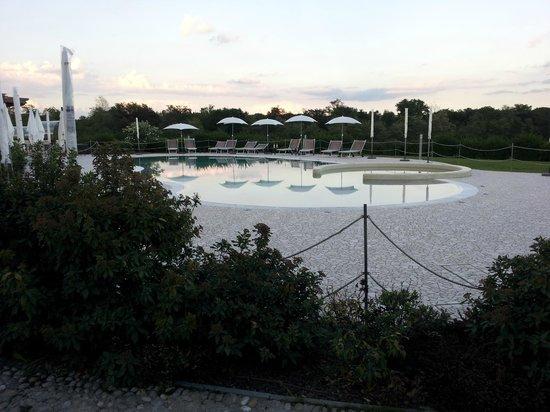 Relais Bella Rosina : Vista della piscina