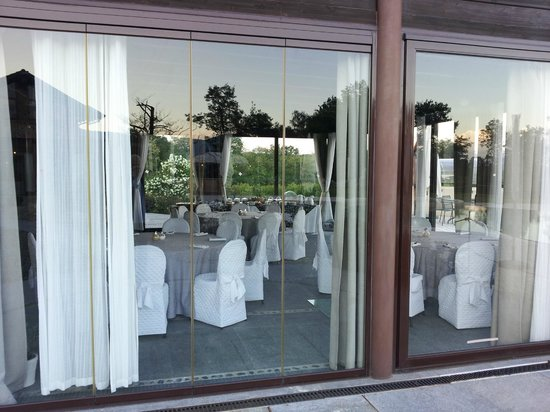 Relais Bella Rosina: La sala da pranzo