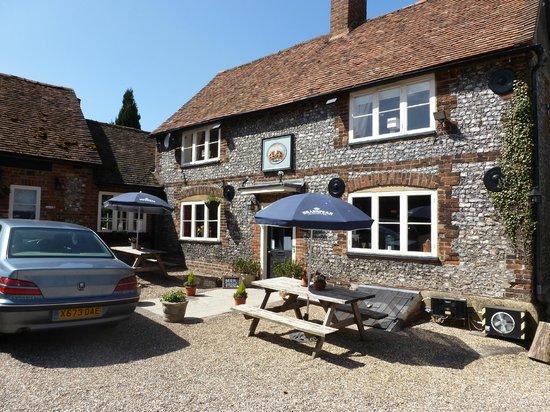 Nuffield, UK: the crown inn 16th c coaching inn