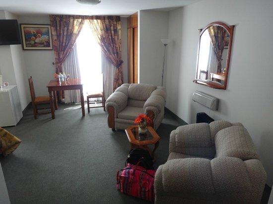 Casona Plaza Hotel: Room