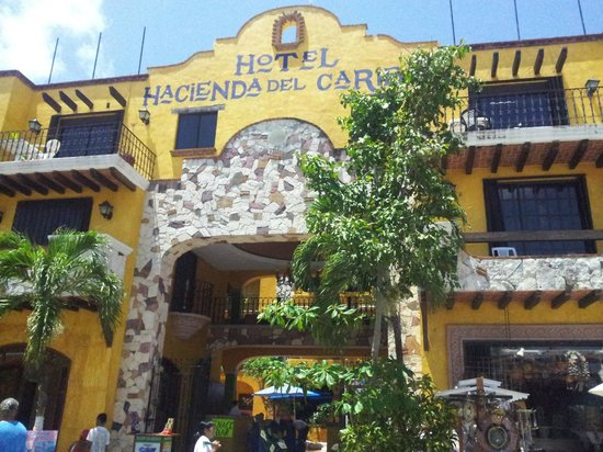 Hotel Hacienda del Caribe: I could never remember the name of the hotel.