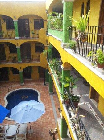 Hotel Hacienda del Caribe: It was pretty quiet in the hotel.
