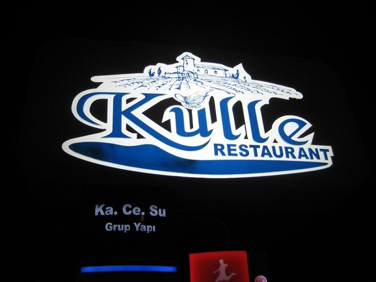 "Kulle Restaurant: Kulle means ""old country bar"""