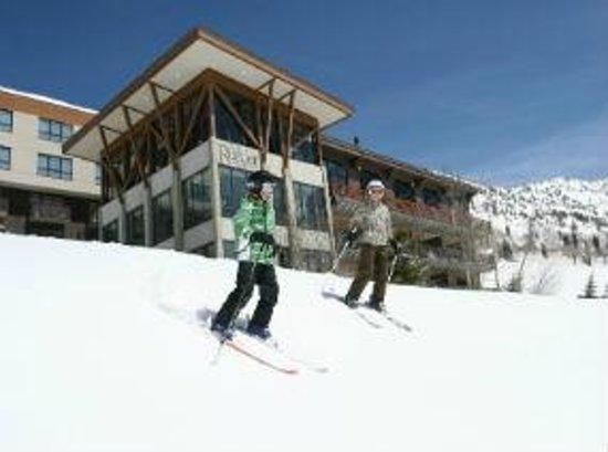 Alta's Rustler Lodge : Ski in/out Rustler Lodge