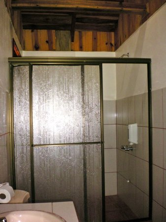 Hotel Arenal Montechiari: Shower area.