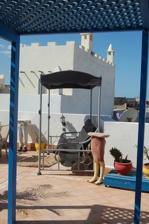 La Maison Du Vent: roof terrace