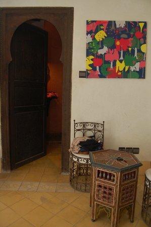 La Maison Du Vent: our room