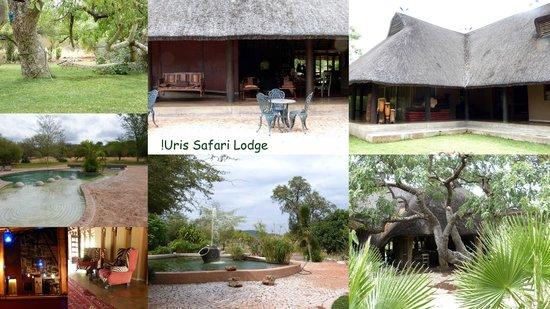Gebäude der Uris Safari Lodge