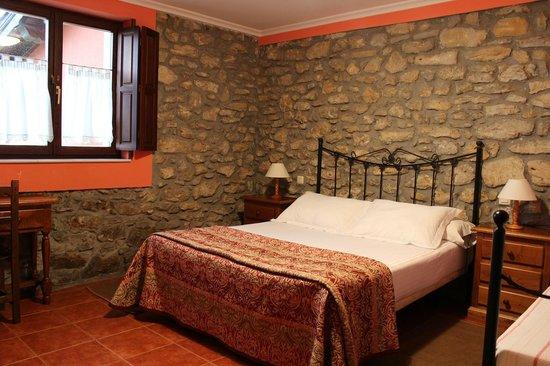 Posada Rural Punta Linera: Double room with extra bed