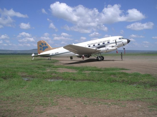 Governor's Camp: DC-3 Dakota,the legend-Mombasa air safaris