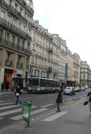 Best Western Aramis Saint-Germain : Photo of Aramis Hotel from across the road