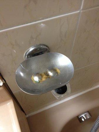 Apogia Paris: Rust / Misc dirt on the soap dish