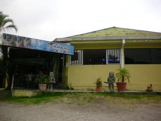 El Rancho de Laly : Outside view.