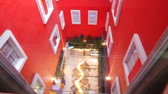 Zócalo Central: Vista desde el Ascensor