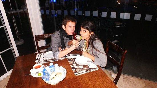 Zócalo Central: Rica la comida del Restaurant! con Jazz en vivo!