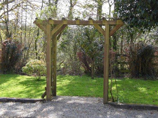 Gellifawr Woodland Retreat: Photo spot ...Pergola