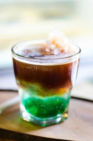Carajillo Café: Cafe Soda con Menta