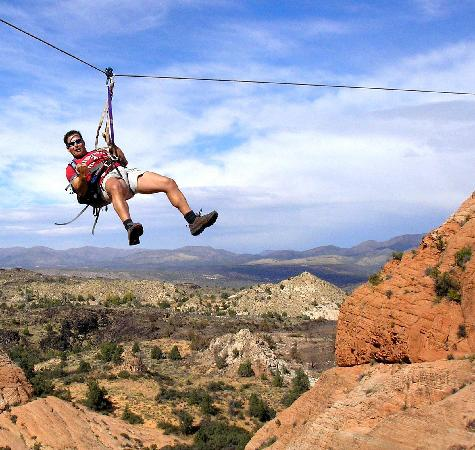 Zipline Adventures in St. George Utah