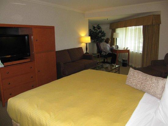 BEST WESTERN De Anza Inn: Inside Room