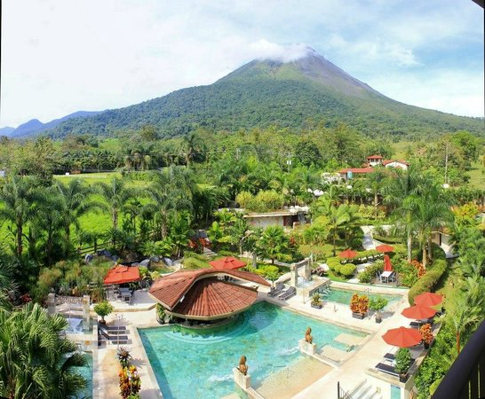 The Royal Corin Thermal Water Spa Resort View From Room 407