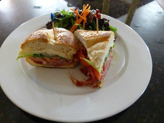 Chef Patrick's: Procuttio and Brie Sandwich